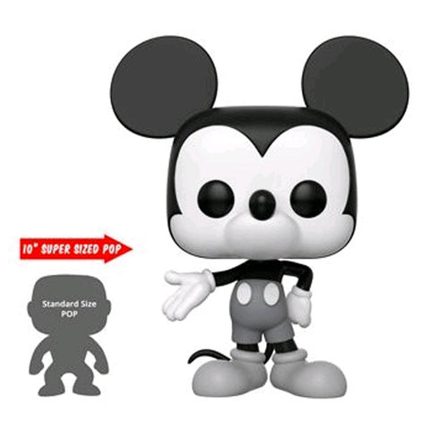 Mickey Mouse - 90th Mickey Mouse Black & White US Exclusive 10"