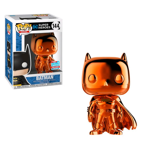 Batman - Batman Orange Chrome NYCC 2018 Exclusive | FUNKO POP! Vinyl