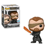 Game of Thrones - Beric Dondarrion with Flame Sword NYCC 2018 Exclusive | FUNKO POP! Vinyl