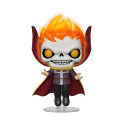 Marvel - Doctor Strange as Ghost Rider Glow LACC US | FUNKO POP! VINYL