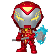 Infinity Warps - Iron Hammer Metallic Glow US Exclusive | FUNKO POP! Vinyl