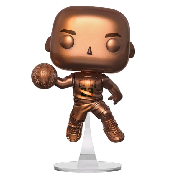 NBA: Bulls - Michael Jordan Bronzed US Exclusive  | FUNKO POP! VINYL