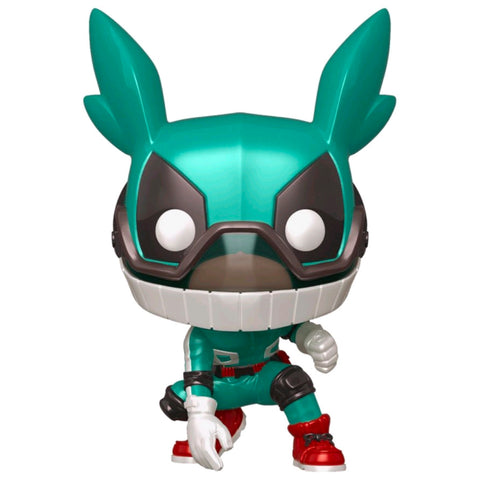 My Hero Academia - Deku with Helmet Metallic US Exclusive | FUNKO POP! VINYL