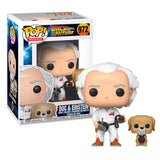 Back to the Future - Doc with Einstein US Exclusive | FUNKO POP! VINYL