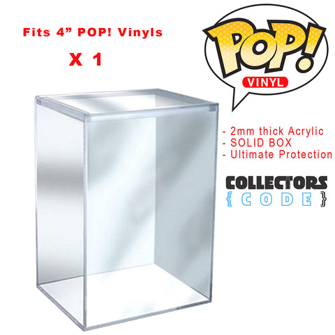 Pop! Protector - Acrylic Box Ultimate Storage Device for your Grail