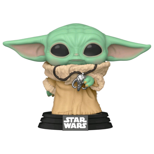 Star Wars: The Mandalorian - The Child w/Pendant NYCC 2020 Exclusive | FUNKO POP! Vinyl