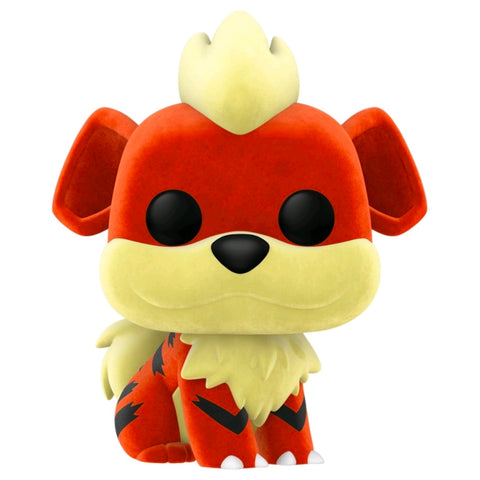 Pokemon - Growlithe Flocked NYCC 2020 Exclusive | FUNKO POP! Vinyl