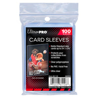 "Ultra Pro Card Sleeves Soft 2.5"" x 3.5"" 