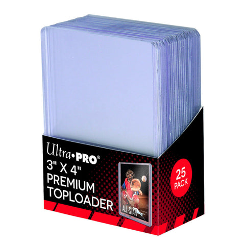 "Ultra Pro Toploader Regular 3"" x 4"" Super Clear Premium 