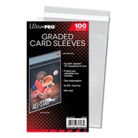 ULTRA PRO CARD SLEEVE - Graded- Resealable | Pkt 100ct