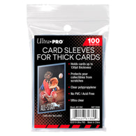 Ultra Pro Card Sleeves 130pt Soft Thick | Pkt 100