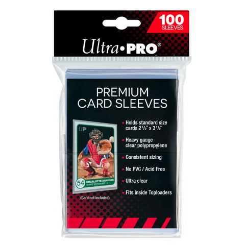 Ultra Pro Card Sleeves PREMIUM | Pkt 100