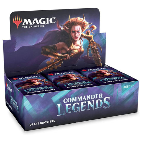 Magic The Gathering Commander Legends Draft Booster Display Box