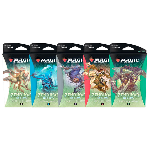 Magic The Gathering Zendikar Rising Theme Booster Display -12 Packs