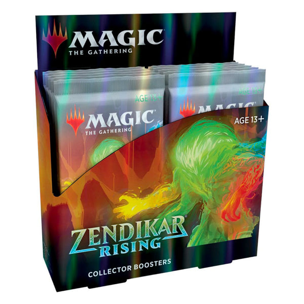 Magic The Gathering Zendikar Rising Collector Booster Display Box