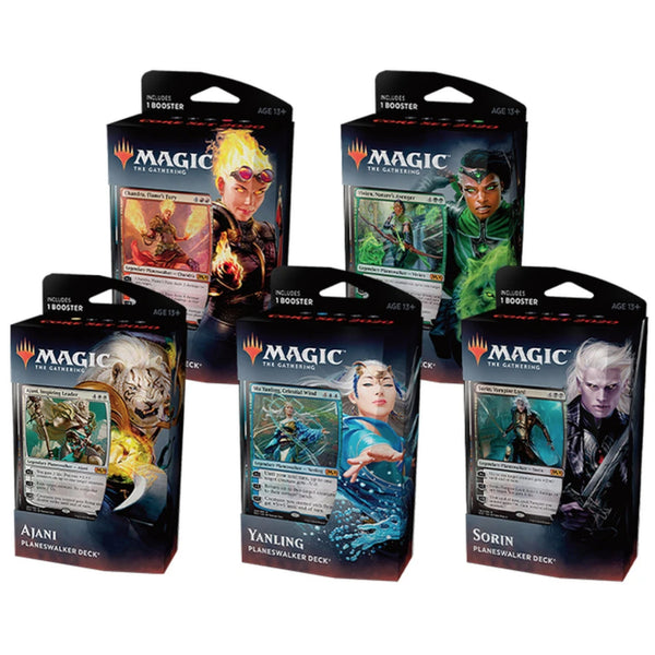 Magic The Gathering Core Set 2020 Planeswalker Deck - 5 SEALED DECKS