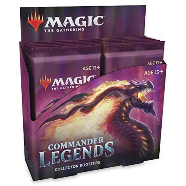 Magic The Gathering Commander Legends Collector Booster Display Box