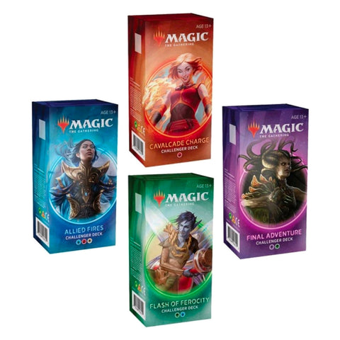 Magic The Gathering Challenger Deck /s 2020 Set of 4 SEALED BOXES