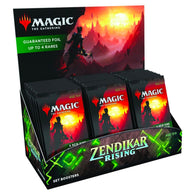 Magic The Gathering Zendikar Rising Set Booster Display Box SEALED