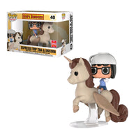 Bob's Burgers - Tina On Unicorn SDCC 2018 US Exclusive | FUNKO POP! VINYL