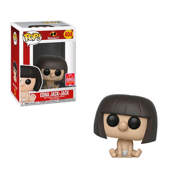 Incredibles 2 - Edna Jack-Jack  SDCC 2018 US Exclusive | FUNKO POP! VINYL