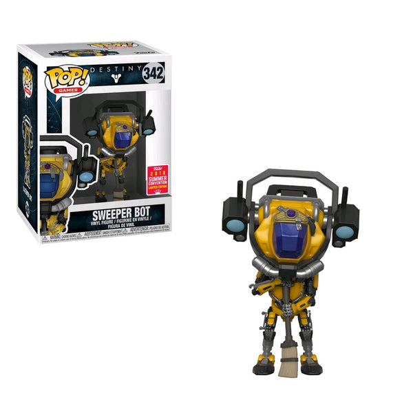 Destiny - Sweeper Bot  SDCC 2018 US Exclusive | FUNKO POP! VINYL