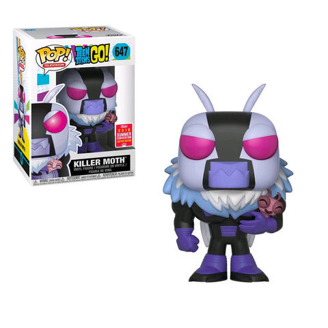Teen Titans Go! - Killer Moth SDCC 2018 US Exclusive | FUNKO POP! VINYL