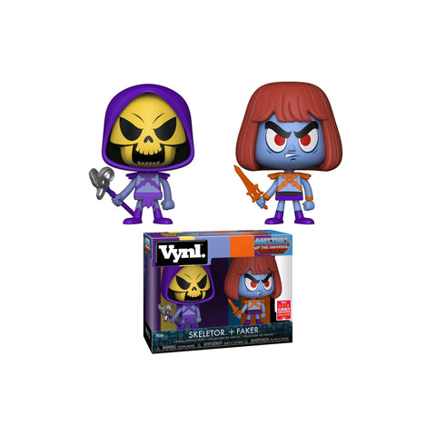 Masters of the Universe - Skeletor & Faker SDCC 2018 US Exclusive | FUNKO POP! VINYL