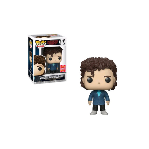 Stranger Things - Dustin Snowball Dance SDCC 2018 US Exclusive | FUNKO POP! VINYL