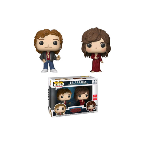 Stranger Things - Billy & Karen SDCC 2018 US Exclusive | FUNKO POP! VINYL