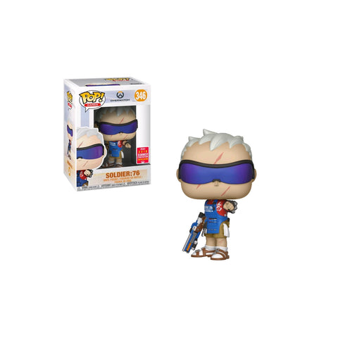 Overwatch - Soldier: 76 Grillmaster SDCC 2018 US Exclusive | FUNKO POP! VINYL