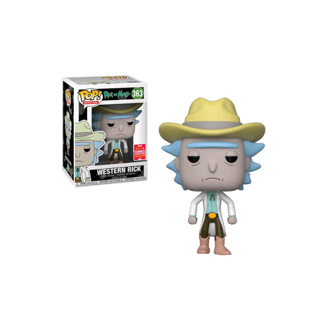 Rick and Morty - Western Rick  SDCC 2018 US Exclusive | FUNKO POP! VINYL