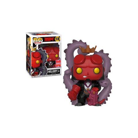 Hellboy - Hellboy in Suit  SDCC 2018 US Exclusive | FUNKO POP! VINYL