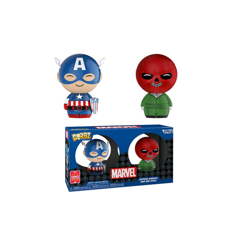 Captain America - Captain America & Red Skull  SDCC 2018 US Exclusive | FUNKO POP! VINYL