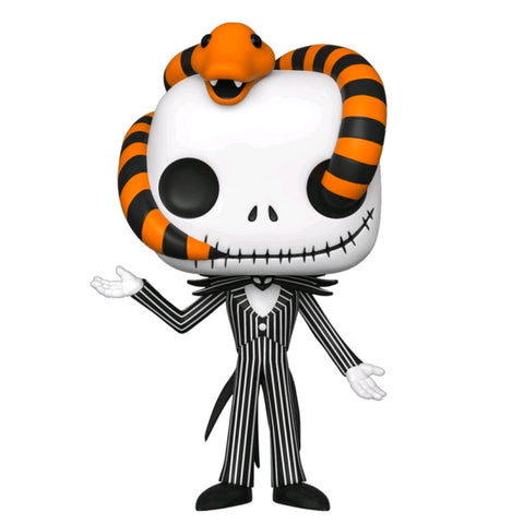 The Nightmare Before Christmas - Jack Snake Head US Exclusive | FUNKO POP! Vinyl