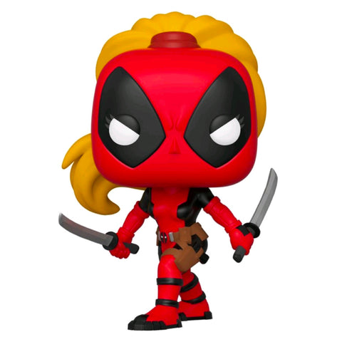 Deadpool - Lady Deadpool 80th Anniversary US Exclusive | FUNKO POP! Vinyl