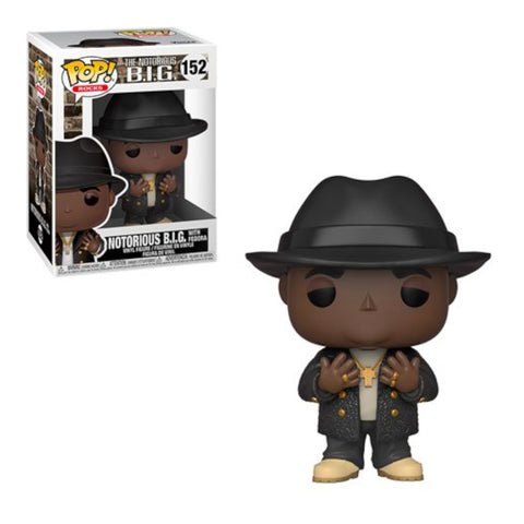 Notorious B.I.G. -  Black Suit Fedora | FUNKO POP! VINYL