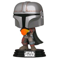 Star Wars: The Mandalorian - Wrist Rocket Metallic US Exclusive | FUNKO POP! Vinyl