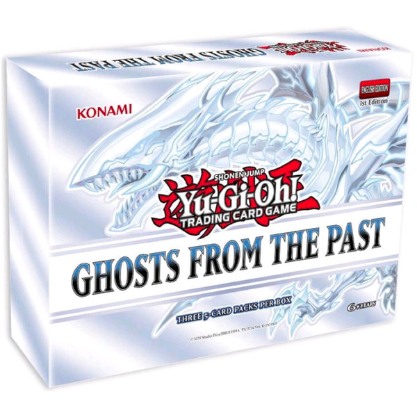 YuGiOh TCG | Ghosts From The Past Box Set Display | 5 Box Display