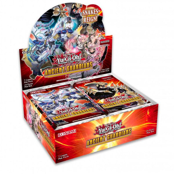 YuGiOh TCG | Ancient Guardians Booster Box | 24 Booster Packs