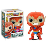 Beast Man Flocked from Masters of the Universe MotU NYCC 2017 Exclusive | FUNKO POP! Vinyl