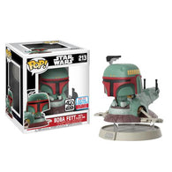 Boba Fett with Slave One Ride NYCC 2017 Exclusive | FUNKO POP! Vinyl