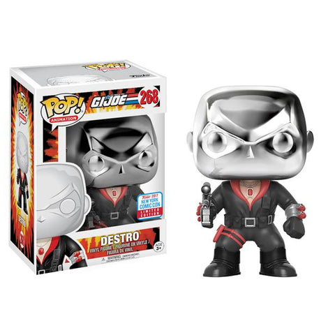 Destro GI Joe NYCC 2017 Exclusive | FUNKO POP! Vinyl