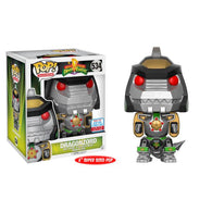 "Dragonzord Power Rangers GREEN 6"" NYCC 2017 Exclusive 