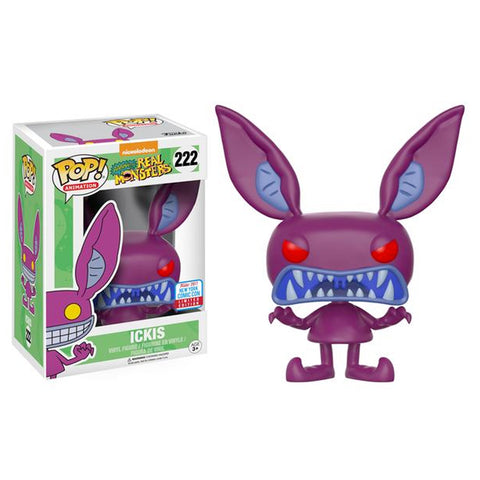 Real Monsters Ickis NYCC 2017 Exclusive | FUNKO POP! Vinyl