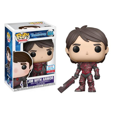 Jim with Armor Trollhunters NYCC 2017 Exclusive | FUNKO POP! Vinyl