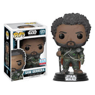 Saw Gerrera from Star Wars NYCC 2017 Exclusive | FUNKO POP! Vinyl