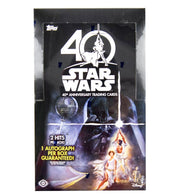 STAR WARS - 40th Anniversary Hobby Collection Case | 8 Boxes & 192 Packs