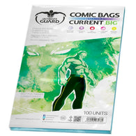 Ultimate Guard - Comic Bags BIG Resealable Current Size | 100ct