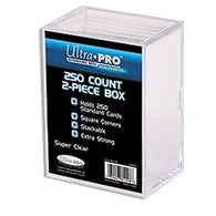 Ultra Pro Card Storage Box 250ct | 2 Piece Construction